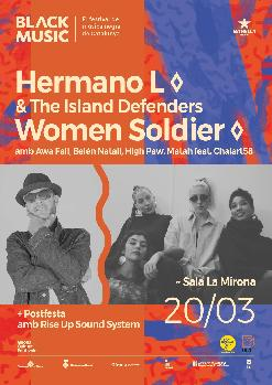 Women Soldier amb Awa Fall, Belén Natalí, High Paw i Matah feat. Chalart58· Hermano L & The Island Defenders