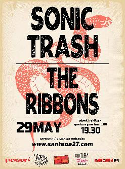 SONIC TRASH + THE RIBBONS