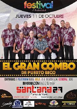 Festival de la Hispanidad: EL GRAN COMBO DE PUERTO RICO