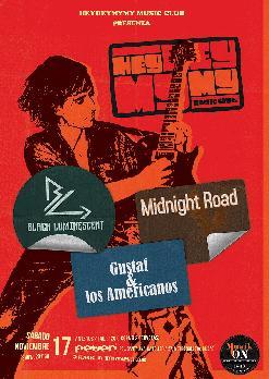 BLACK LUMINESCENT / MIDNIGHT ROAD / GUSTAF & LOS AMERICANOS