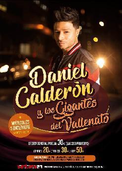 DANIEL CALDERÓN y los GIGANTES del VALLENATO
