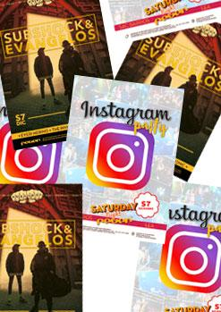 INSTAGRAM PARTY / SUBSHOCK & EVANGELOS / FOLLOW THE PARTY