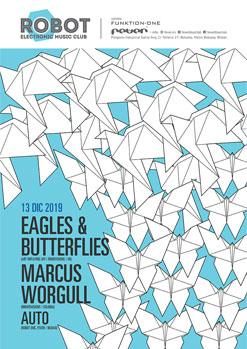 EAGLES & BUTTERFLIES / MARCUS WORGULL / AUTO