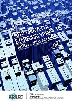 TOTO CHIAVETTA / STEREOCALYPSE / JAVI AUTO b2b JOSU ARAMBURU