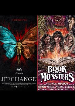 Sesión doble: Lifechanger (Justin McConnell, 2018) y Book of Monsters (Stewart Sparke, 2018)