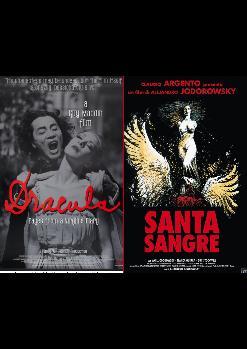 Sesión doble retrospectiva:   Dracula: Pages from Virgin's Diary (Guy Maddin, 2002) y Santa Sangre (Alejandro Jodorowsky, 1989)
