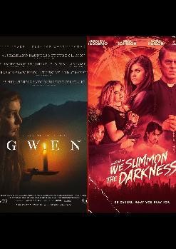 Sesión doble: Gwen (William McGregor, 2018) y We Summon the Darkness (Marc Meyers, 2019)